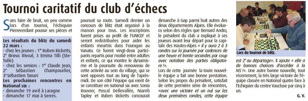 Haute Provence Info du 10/04/2015
