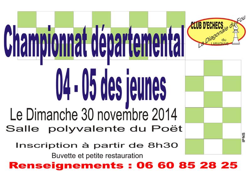 Championnat des jeunes 2014 Le Poët