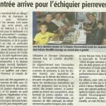 article du 30 aout 2013 dans Haute Provence Info