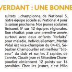 article Le Renard d'Or n°130 - juillet 2014