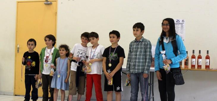 Tournoi de Pierrevert - 3 mai 2015 - Les jeunes