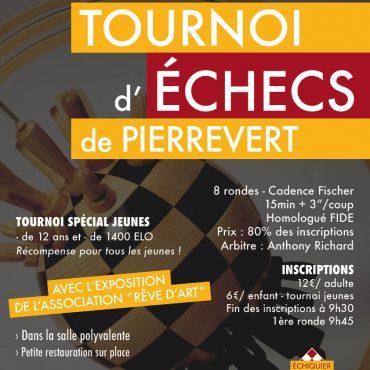 affiche tournoi Pierrevert 26 mars 2017